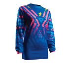 Thor 2017 Womens Pulse Facet Jersey - Blue/Pink