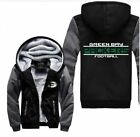 High-quality Football Team Winter Jacket Sweatshirts Thicken Hoodie Zipper Coat