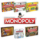 Brand new Monopoly board game – gaming editions inc. Nintendo and Pokemon!