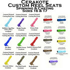 Custom Cerakote Colors Spinning or Casting Reel Seat 16 or 17 Your choice!