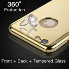 Bling Luxury Ultra Thin Shockproof Flexible PC Cover for iPhone 6S 6 7 Plus Case