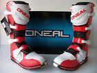 New Oneal Red White Motocross Enduro Trail Boots Cr Crf Xr Xlr Ec Mtx Crf450