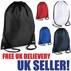 DRAWSTRING BAG BACKPACK WATERPROOF GYM PE SWIM DANCE BOYS SCHOOL