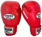 Greenhill Leather Boxing Gloves Marco Training Bag Pad Upper Heavy Punches 14 Oz