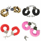 Soft Furry Handcuffs - Fun Valentines Day Novelty - Pick Your Color