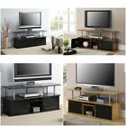 TV Stands and Cabinets Entertainment Center Media Storage Console 55 2 Tier NEW