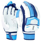 Kookaburra Surge 300 Mens Kids Cricket Batting Gloves White/Blue