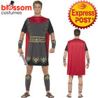 CA170 Roman Gladiator Warrior Hero Soldier Greek Mens Fancy Dress Costume Outfit