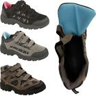 Womens Ladies Velcro Brisk Walking Camping Hiking Trainers Boots Shoes Sizes 3-8