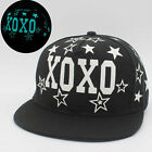 Fluorescent Cap EXO Hip-hop Cap Flat-brimmed Hat Personality Male and Female