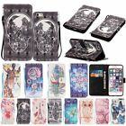 Leather Cards Kickstand Wallet Cover Case For iPhone 5 6 6s Plus Touch 5/6 SE