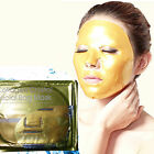 Pro Gold Collagen Crystal Face Masks Anti Ageing Skin Care Facial Mask 1/5/10pcs