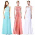 Ever Pretty Women's Long Bridesmaid Dresses Halter Evening Party Dress 08982
