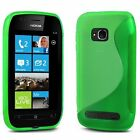 S Line Silicone Gel Case Cover & Screen Protector For Nokia Lumia 920