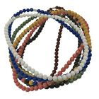 EleeColorful Power Health Ion Tourmaline Beads Stretch Necklace Chain Balance w/