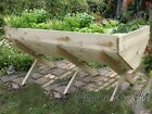 wooden vegetable trough