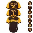 San Diego Padres MLB 1978 Cooperstown Brown Cool Base Jersey Collection Mens