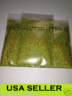 Lime Green Holographic Extra Fine 0.008 Glitters Powder Dust Nail Holo Loose Lot
