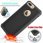 Hybrid 360° Screen Film + Silicone PC Hard Case Cover Skin For iPhone 6 s 7 Plus