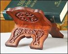 Wood Bible Holder Folding Rosewood Prayer Book Collapsable Wooden Stand New