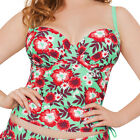 Curvy Kate Aloha Padded Balcony Tankini Top Seafoam CS3016 NEW Select Size