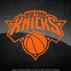 """New York Knicks NBA Vinyl Decal Sticker - 4"""" and Larger- 30+ Color Options!"""