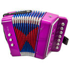 Kid Accordion Pattern 7 Button 2 Bass Kid Music Instrument Education Toy Gift