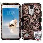 For LG Aristo T-Mobile MetroPCS Rugged Shockproof Tuff phone Cover Case