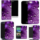 art case cover for many Mobile phones -   purple deluge leaf silicone