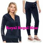 NWT JUICY COUTURE Velour Tracksuit Woman Graphic Jacket Jogger Pants XS S M L