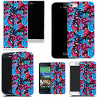 art case cover for many Mobile phones - blue backyard floral silicone