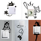 Mural Light Switch Wall Stickers Funny Wall Art Decal Vinyl DIY Home Decor