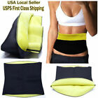 Hot Thermo Sweat Shapers Slimming Belt Sauna Waist Cincher Girdle Weight Loss image