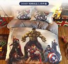 *** The Avengers 2 Queen Bed Quilt Cover Set - Flat or Fitted Sheet ***