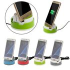Desktop Rotate Charger Dock Station Cradle Sync Charging Cellphone For Samsung