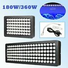Dimmable 180W / 360W LED Aquarium Light Full Spectrum for Coral Reef Fish Tank