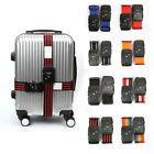 TSA 3-dial Password Lock Travel Luggage Strap Suitcase Baggage Bag Belt 5*200cm