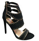 Women's Dress Party Open Toe Evening Gladiator Caged High Heel Sandal Shoes