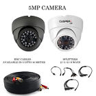 CCTV Dome Camera 2MP 1080/4MP 1440P Wide Angle 20M IR Wide Angle High Resolution