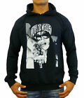NEW MENS BLACK HOODIE JUMPER LA CHICK BASIC CASUAL FASHION GYM SWAG FRESH STREET