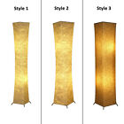 Modern Floor Lamp Light White Fabric Shade Warm Lighting Decor Living Bedroom US