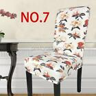 Super Fit Stretch Removable Decor Dining Room Chair Covers Phd014