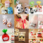 Medium Animal Christmas Cello Cellophane Wedding Favour Party Biscuit Gift Bags