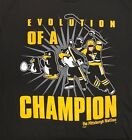 The Pittsburgh Nation Hockey Evolution of a Penguin Shirt Black & Gold