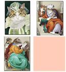 New Home Picture Painting Numbers Cats No Frame Home Wall Decor Art Picture