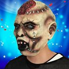 Scary Zombie Animal Halloween Half or Full Head Face Latex Mask Costume Cosplay