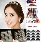 makeup double eyelid - 240 Pairs Eyelid Sticker Tape Invisible Narrow / Wide Double Eye Transparent USA