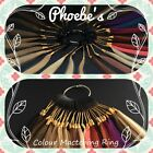 ~ Hair Extensions Colour Matching Wheel Ring 30 Colours or Colour Swatch #Z12 ~