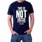 This is Not Soccer, Is That Clear? T-shirt  Rugby  S-5XL Generic Logo Company