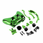 Chrome Plated Full Housing Case Shell Button Kit Fo Xbox 360 Wireless ControllR8
